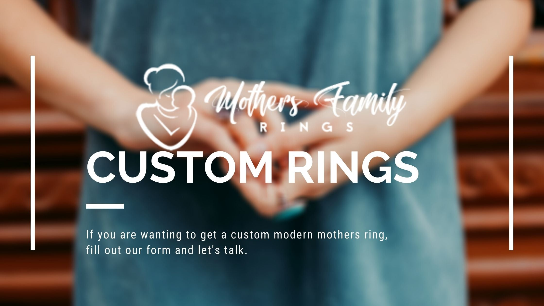custom rings by mothers family rings
