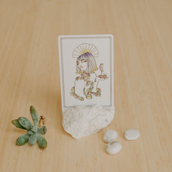 Howlite Card Holder