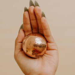 Copper Sphere - Medium