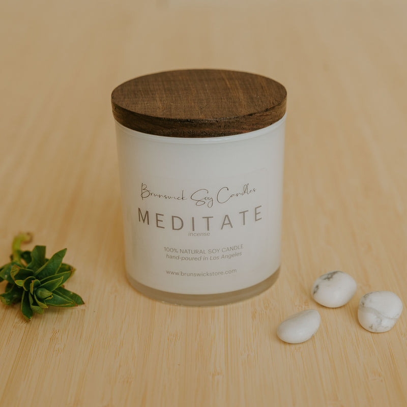 Meditate Soy Candle