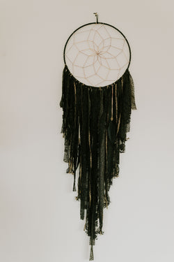 Starry Night Dream Catcher - L Black