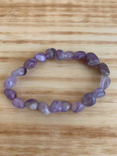 Load image into Gallery viewer, Amethyst Tumbled Stretch Bracelet