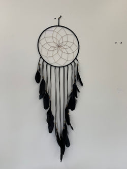 Midnight Spell Dream Catcher - L Black
