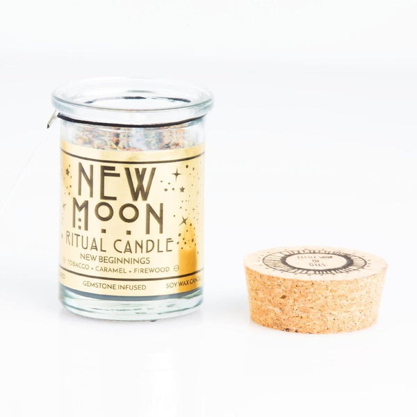 New Moon Ritual Candle