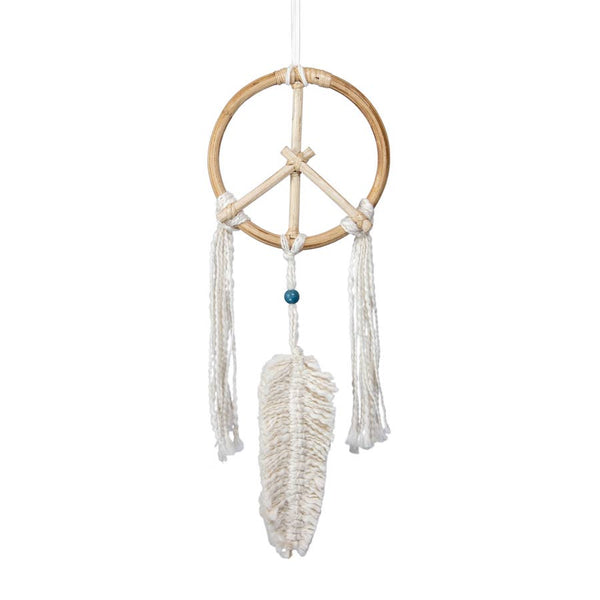Mini Peace Dream Catcher