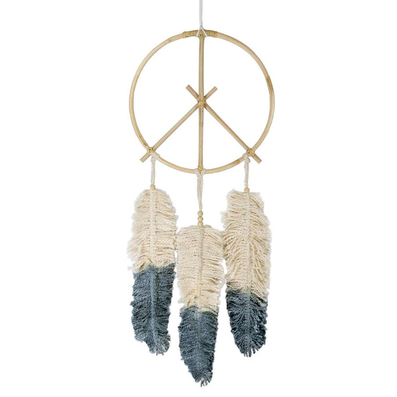 Peace Feather Dream Catcher