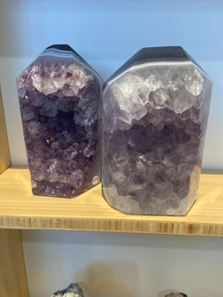 Amethyst & Agate Standing Point - 2450g