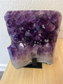 Amethyst Specimen with Stand