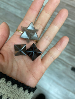 Smoky Quartz Merkaba - Mini