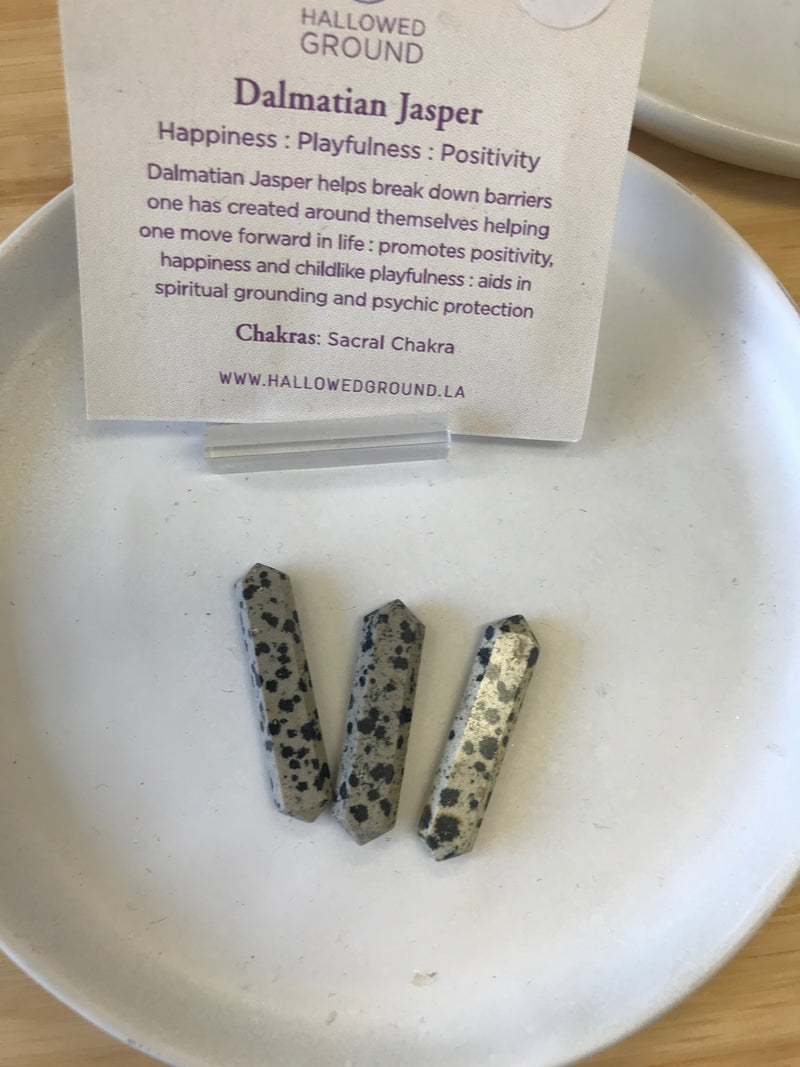 Dalmatian Jasper Mini Points