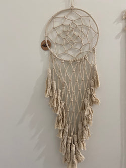 Macrame Dreamcatcher with Tassels