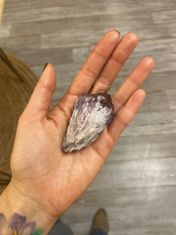 Elestial Amethyst Points - Large