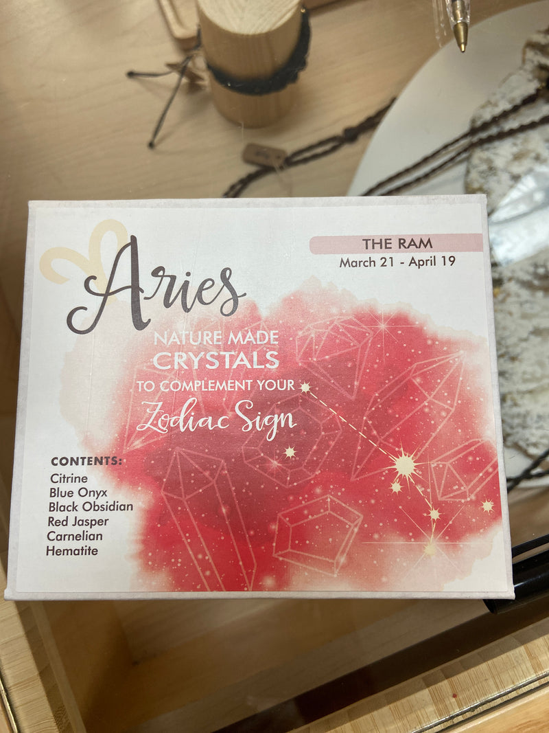 Zodiac Crystal Kits - Aries