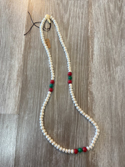 Tibetan Mala Necklace with Pearls