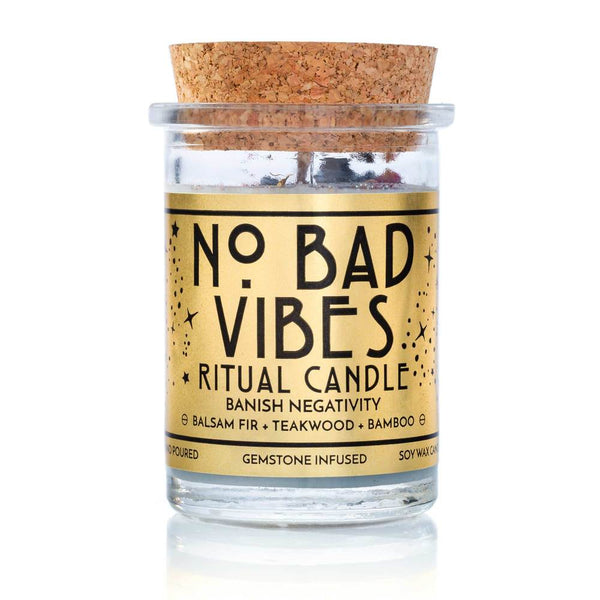 No Bad Vibes Ritual Candle