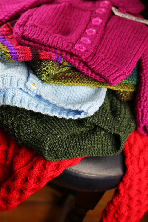 Roberta Sturgeon, Children's Hand Knitted Garments