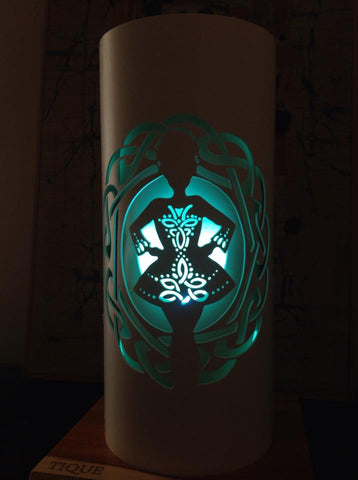 Handcrafted Irish Dancer Light (Color Changing Option) by Tique Lights