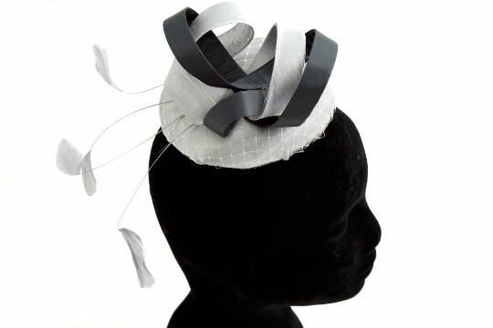 Lily - Wedding Hat Fascinator by Anita McKenna Designs