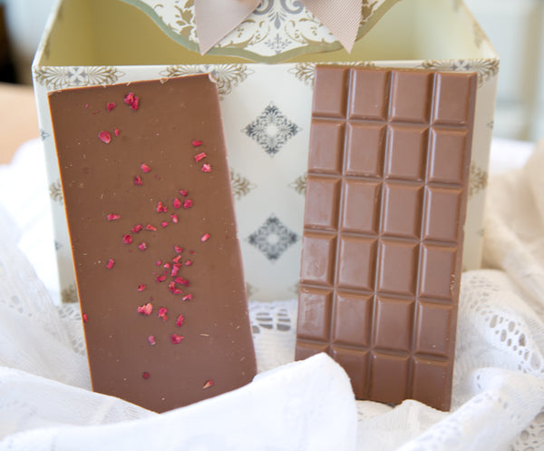 Raspberry Crisp Chocolate Shards by Glaslough Chocolates