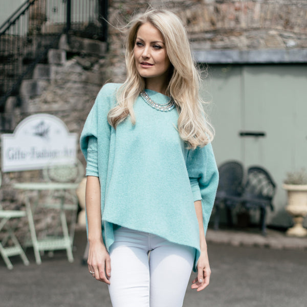 The Oversize Pullover by Janet Byrne Knitwear