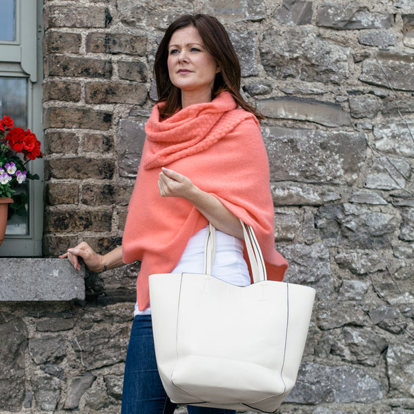 The Multiway Sara Shawl by Janet Byrne Knitwear