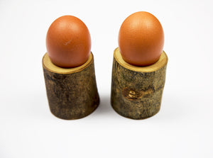 Ash Egg Cups Set of 2 by Dernacoo Crafts