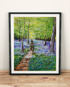 Bluebell Wood by The Daisy Studio