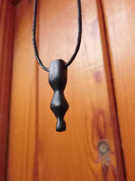 Bog Oak Pendant (S125) by Crafty Irish Beggars