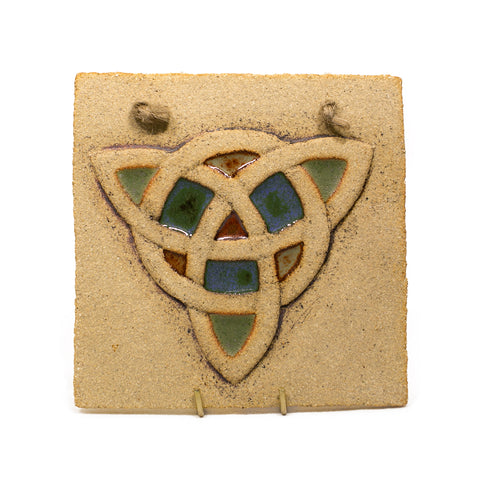 Hanging Trinity Plaque by Michelle Butler Ceramics