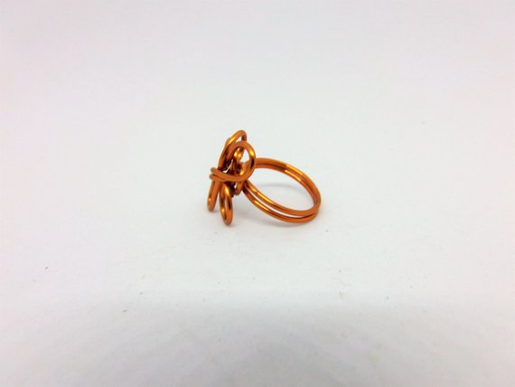 Celtic Copper Ring by Crafty Irish Beggars