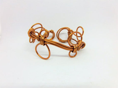 Copper Cuff (SB128) by Crafty Irish Beggars