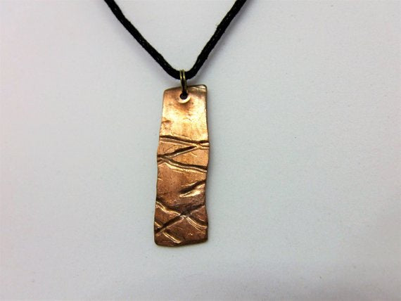 Copper Pendant - W57 by Crafty Irish Beggars