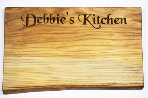 Personalised Kitchen Chopping Board by Dernacoo Crafts