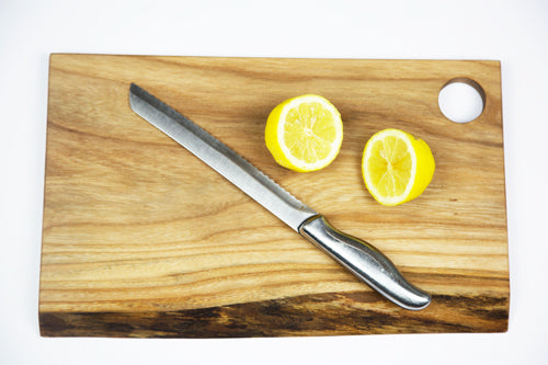 Elm Chopping Board by Dernacoo Crafts