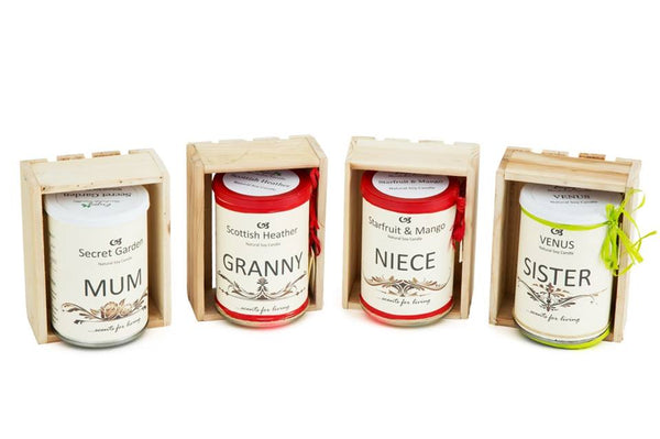 Granny Personalised Gift Candle by Enjoy Candles