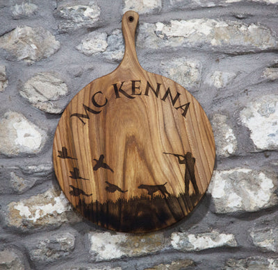 Personalised Elm Sign by Dernacoo Crafts