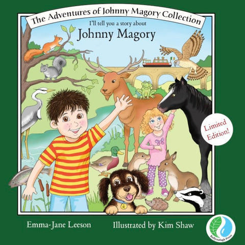 "Limited Edition Hardback ""The Adventures of Johnny Magory Collection"
