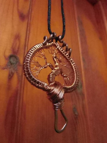 Tree of Life Pendant S115 by Crafty Irish Beggars