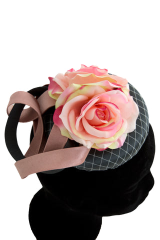 Clodagh - Wedding Hat Fascinator by Anita McKenna Designs