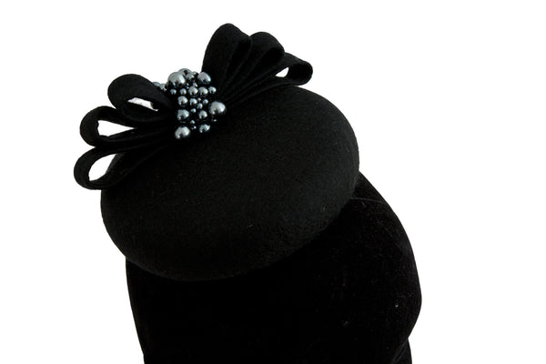 Audrey - Wedding Hat Fascinator by Anita McKenna Designs