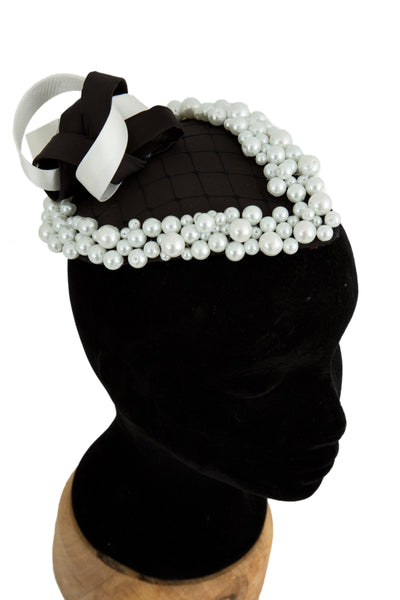 Ally - Wedding Hat Fascinator by Anita McKenna Designs