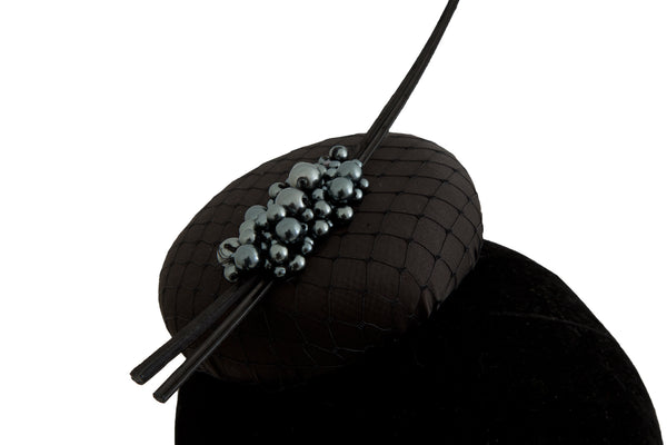 Polly - Wedding Hat Fascinator by Anita McKenna Designs