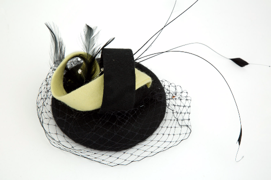 Rebekah - Wedding Hat Fascinator by Anita McKenna Designs