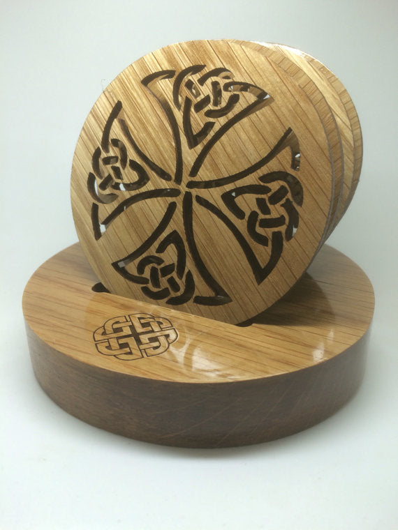 Celtic Coaster Set by Monson Irish Jewelry