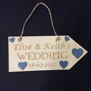 Wedding Sign by Monson Irish Jewelry