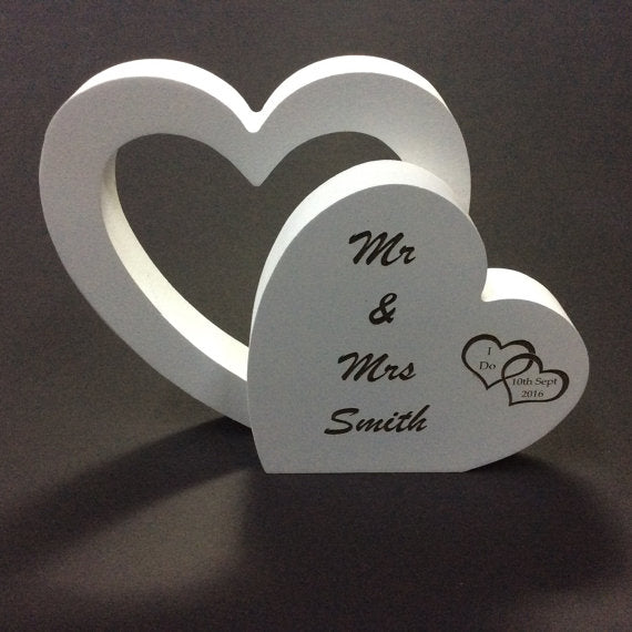 Personalized Wedding Sign by Monson Irish Jewelry