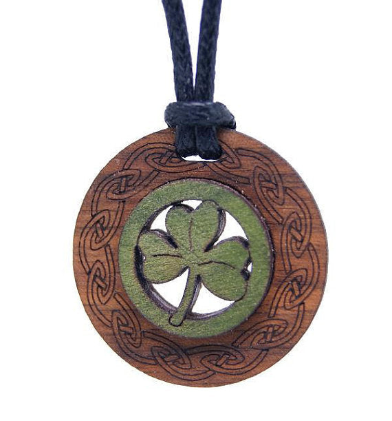 Shamrock Pendant by Monson Irish Jewelry