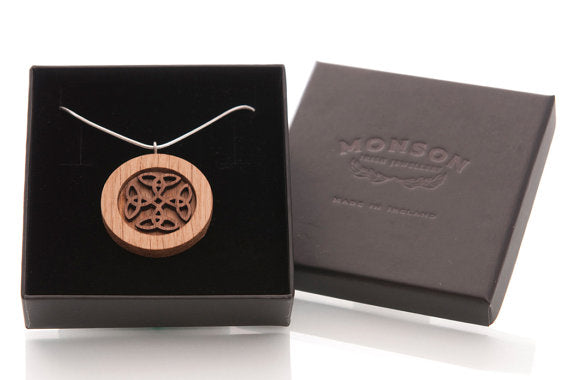 Celtic Knot Pendant by Monson Irish Jewelry