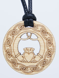 Claddagh Pendant by Monson Irish Jewelry