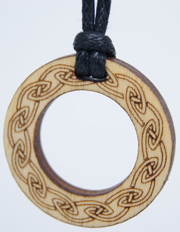 Round Celtic Pendant by Monson Irish Jewelry